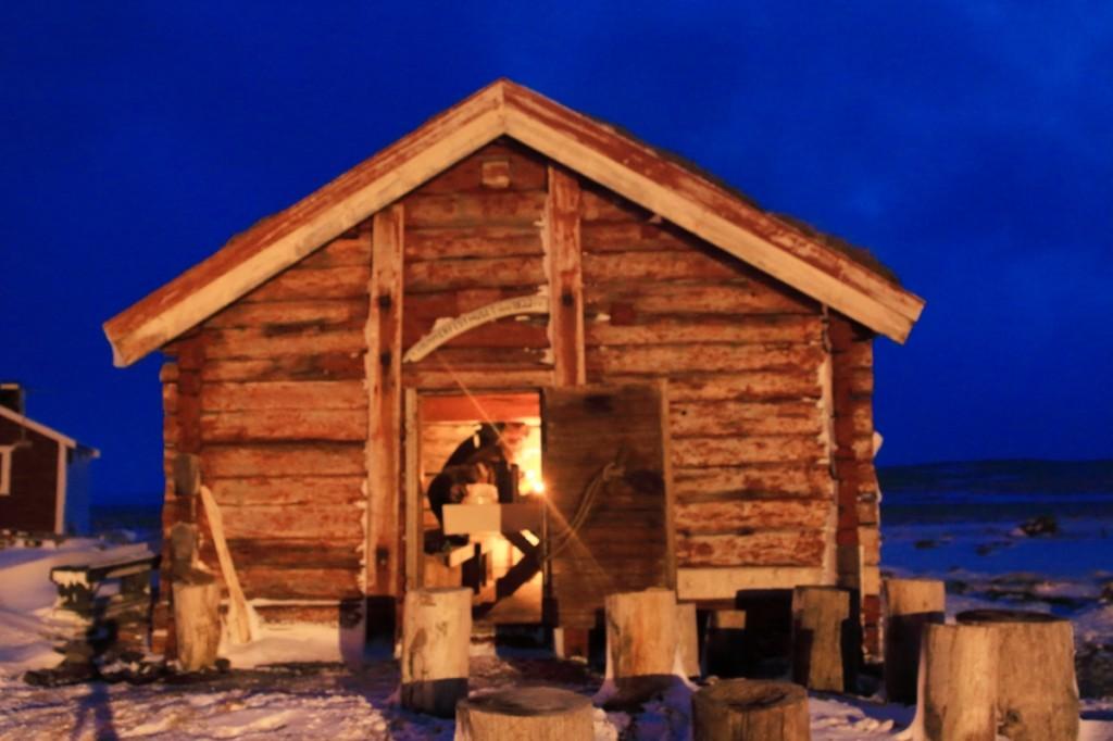 Graut i Hammerfesthuset, julaften.