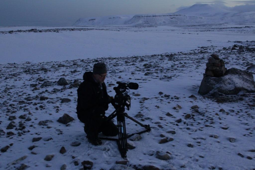 Fotograf Erling er alltid på jobb.