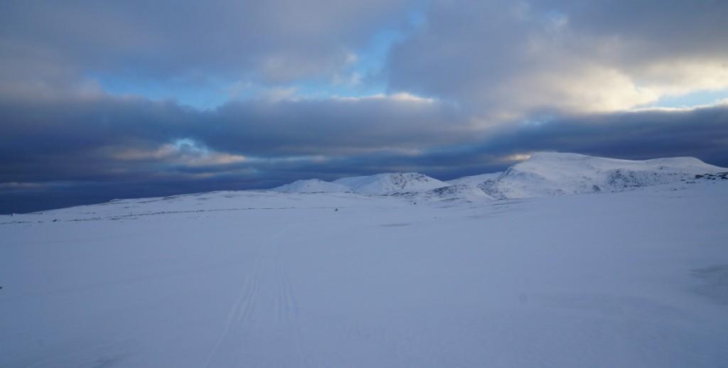 Det er flere fjell enn Misery her. Dette er Antarctica og Alfredfjellet.