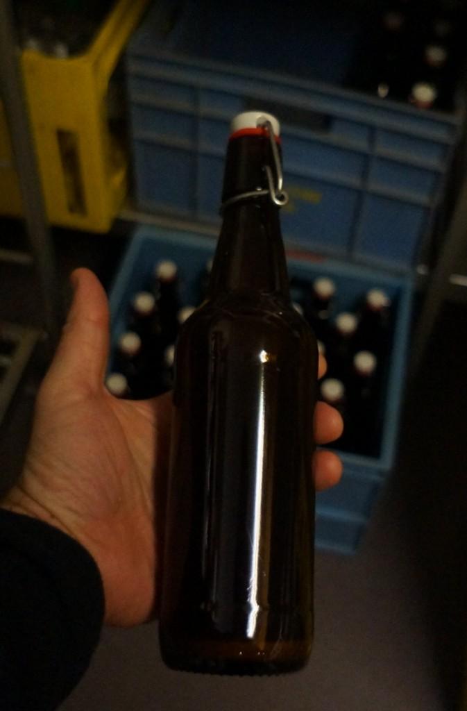 Dette er en Tobiesen Arctic Pale Ale. Drikkeklar i april. Muligens tidligere, om vi blir for tørste.
