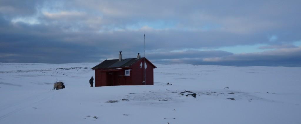 Skutilen, fjellhytta. Hit går årets påsketur, helt sikkert. Den mest hyttete av hyttene!