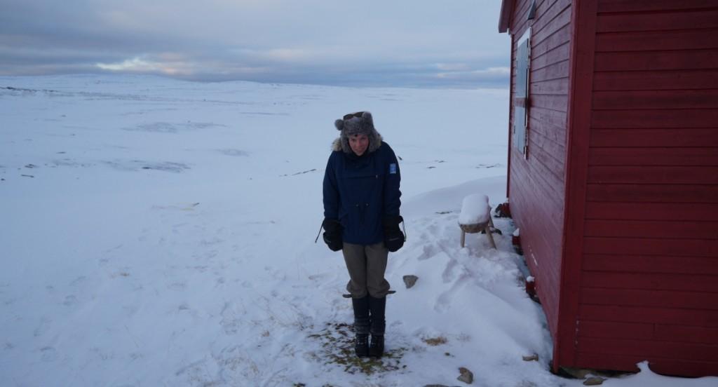 Karinella ønska seg et lag til med ull.