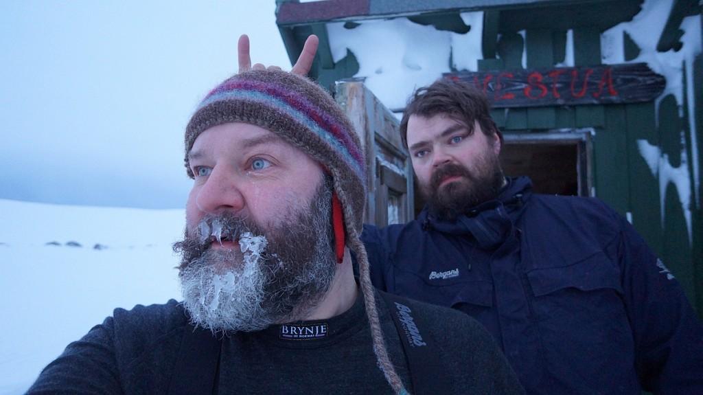 Rune syntes is av sikkel i skjegget var verdt å ta bilde av.