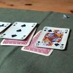 Kortspilling på toppen av Urd utgikk - så det ble gjennomført veld tilbake på Sagatun.